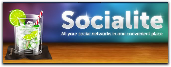 twitter クライアントと Google Reader がドッキングした Socialite