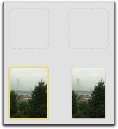 iPhoto '09で、サードパーティーのカメラアプリのサムネイルが表示されない