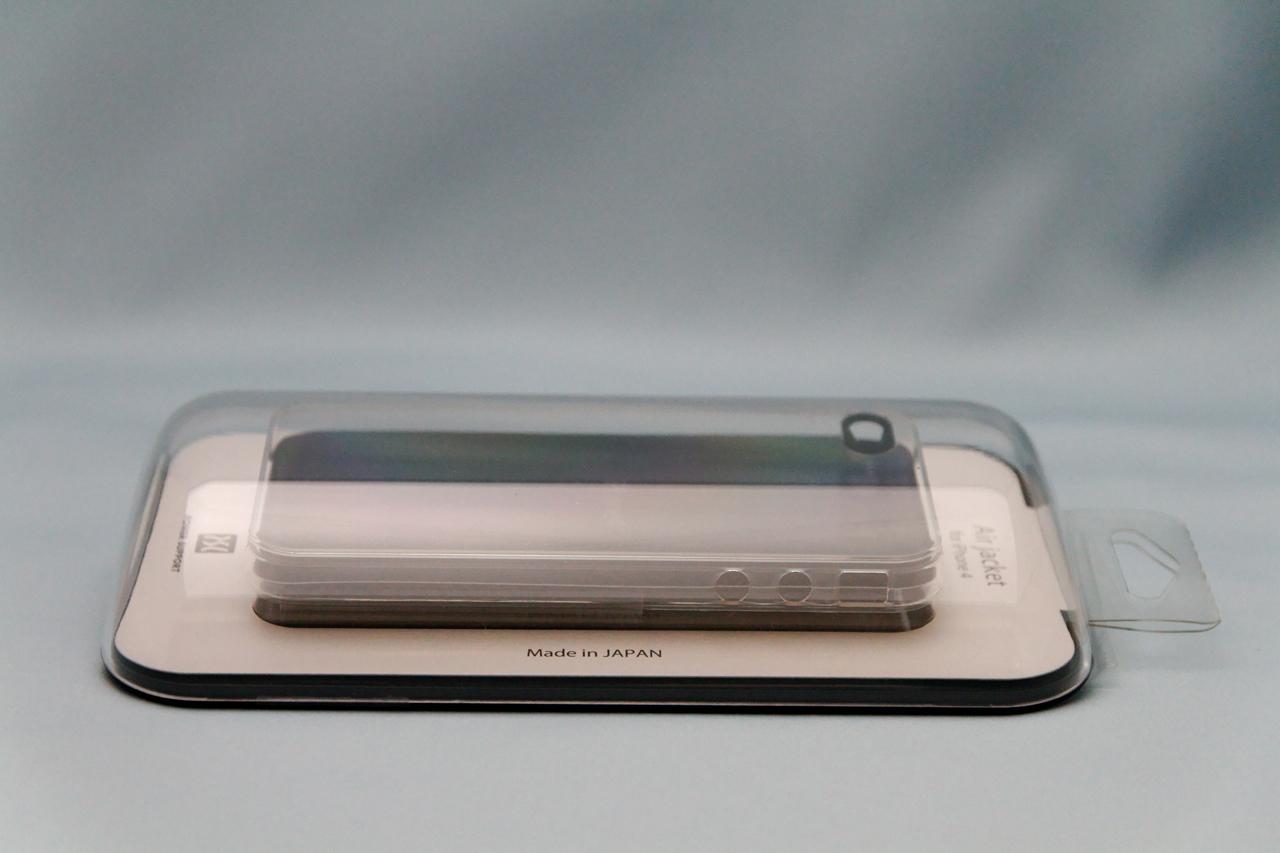 エアージャケットセット for iPhone 4 クリアが届いた