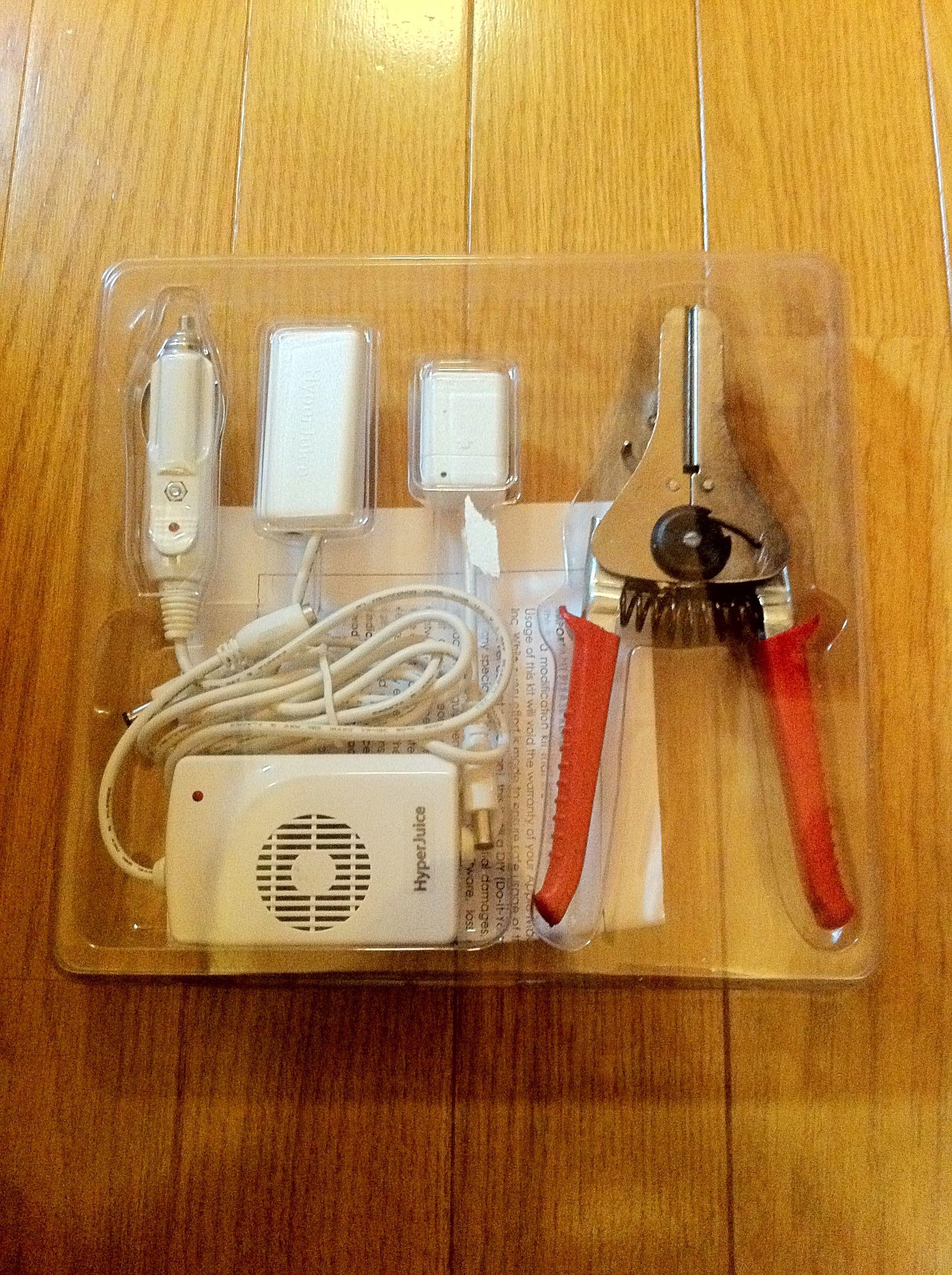 MacBookが充電出来るHyperJuiceのMagic Boxの工作が完了