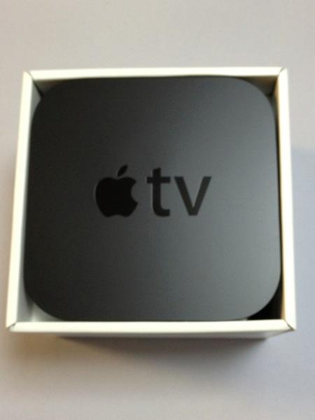 新「Apple TV」をセットアップ