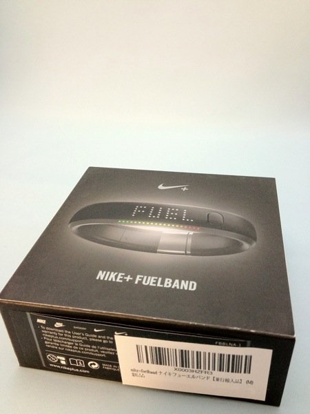 NIKE+ Fuelbandをセットアップ