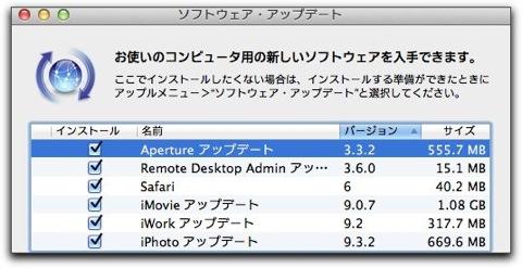 【Mac】Appleより「Aperture アップデート 3.3.2」がリリース
