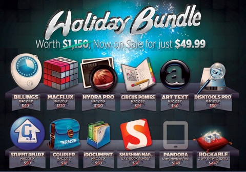 【Mac】BundleHuntのThe Holiday Bundleで総額$1,100が$49.99