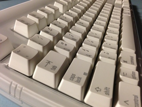 【Mac】「Matias Tactile Pro Keyboard for Mac」メカニカルキーボードが届いた!
