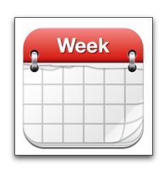 【iPhone,iPad】iPhone標準カレンダーアプリには無い週ビュー「Week Calendar」が今だけお買い得