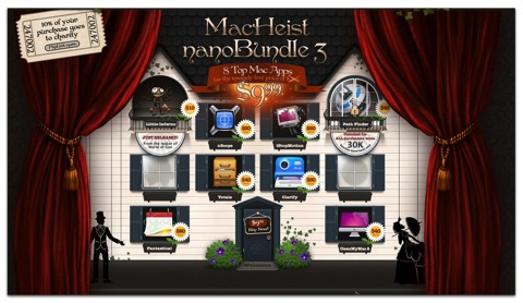 【Mac】「MacHeist nanoBundle 3」で「Path Finder」「iStopMotion」等、総額$260を95%OFFの$9.99で
