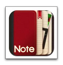【iPad】日記を書き、スケッチ、写真入り録音・録画が可能なノート「NoteLedge for iPad」が今だけ無料