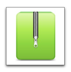 【Mac】Macの標準の圧縮・解凍アプリケーション「アーカイブユーティリティ.app」