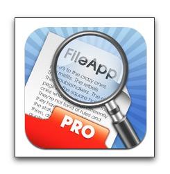 【iPhone,iPad】ファイル管理マネージャー「FileApp Pro」が今だけお買い得