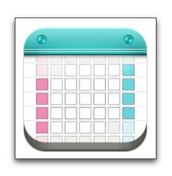 【iPhone,iPad】「月特化カレンダー Moca」が広告を外すアドオンをセール