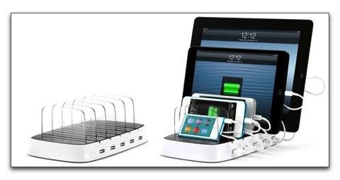 【iPhone,iPad】GRIFFINが5台同時に充電ができるステーション「PowerDock 5」を$99.99で発売