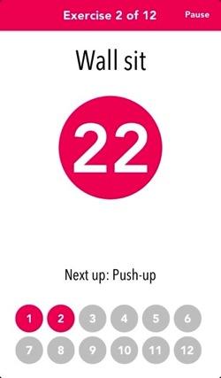 【iPhone,iPad】音声付き7分間のトレーニングアプリ「7 Minute Workout 」が無料に