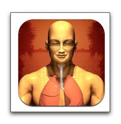 【iPhone,iPad】体のバランスとストレス解消に役立つ呼吸法ガイド「Universal Breathing」が今だけ無料