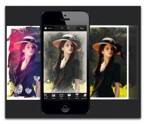 【iPhone,iPad】編集写真、コラージュ写真フレーム、エフェクトの「iColorfulsoft Photo Editor」が初の無料化
