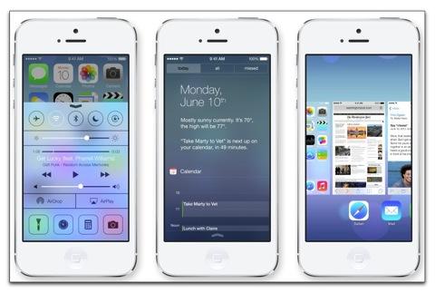 【iPhone,iPad】ワクワク! iOS 7の新たな5つの機能