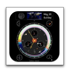 【iPad】天文学情報を1画面に表示「展望台」が初の無料化