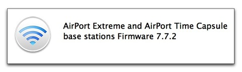 Apple、AirMac ExtremeとTime Capsuleのファームウェアのアップデートをリリース