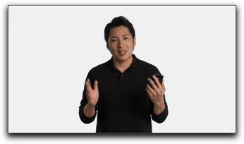 iPhone 3GS「 ビデオガイド」