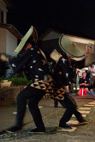 おわら風の盆2012年9月2日(本祭二日目)西新町