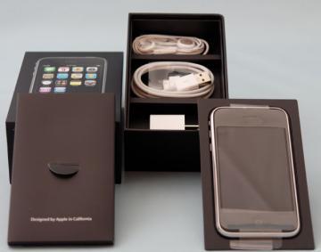 iPhone 3G 16GB黒を手に入れた