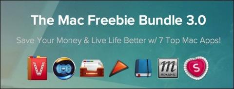 【Mac】「The Mac Freebie Bundle 3.0」で総額$119がなんと無料に