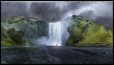気分はiMac Retina 5K、デスクトップピクチャを変更しました
