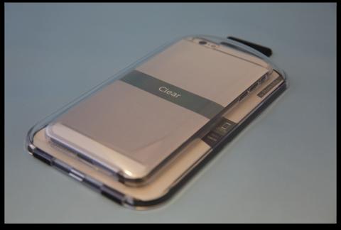 「Power Support エアージャケット for iPhone 6 Plus – クリア」が届きました