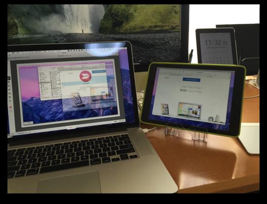 【Mac,iOS】「Duet Display」でタイムラグなくMacのサブディスプレイにiPad,iPhoneが使える