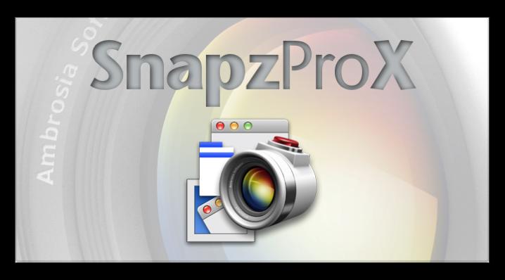 ナンバーワン画面&ムービーキャプチャーアプリ「Snapz Pro X」がバージョンアップでOS X El Capitan対応