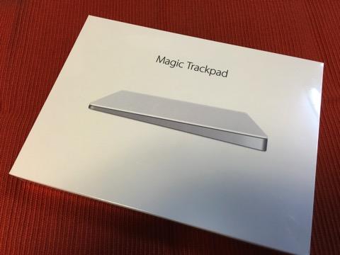 Magic Trackpad 2が届いたのでMagic Truckpadとの比較と使用感