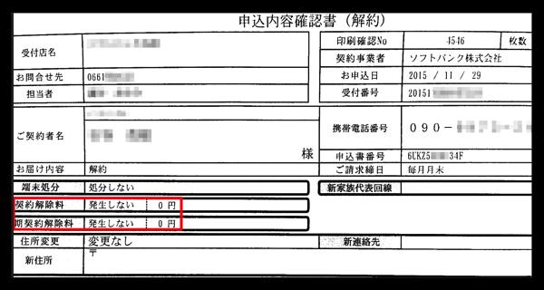 「SoftBank 102z」モバイルルーターを解約、契約解除料が発生しない時を調べておこう!