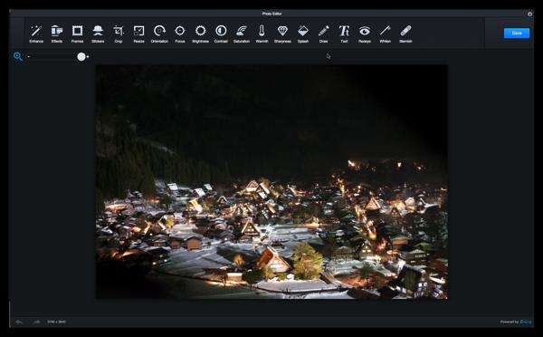 【Mac】Safariなどブラウザで表示&編集「flickr」、「PhotoStream」のAviaryで写真を編集