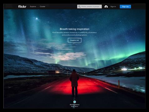 【Mac】Safariなどブラウザで写真を表示&編集「flickr」、「Groups」で家族や友達と楽しい思い出を共有