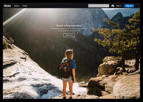 【Mac】Safariなどブラウザで表示&編集「flickr」、「PhotoStream」の単一の写真の画面