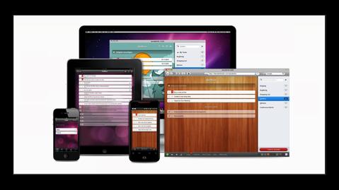 【Mac】2016年、私が愛用するメニューバー常駐アプリ その8 家族間共有として使う「Wunderlist」