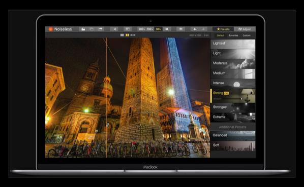 【Sale情報】写真のデジタルノイズ除去アプリ「Noiseless」が50%オフ
