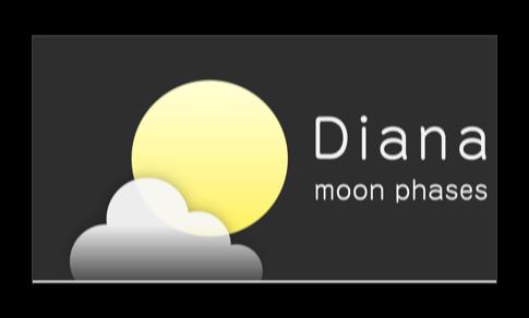 iPhoneでおなじみの月齢表示アプリのApple TV版「 Diana for TV」がリリースされています
