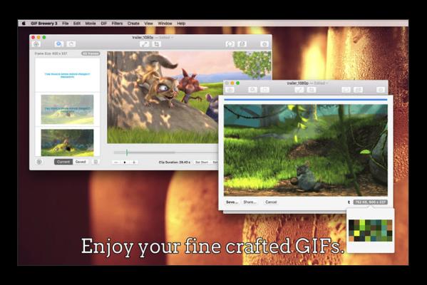 【Sale情報】MacのGIFアニメ作成アプリ「GIF Brewery 3」がリリース記念で無料