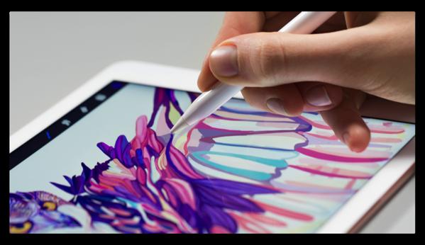 明日、9.7inch iPad Proが届くので「Apple Pencil」の機能と対応アプリを調べてみました