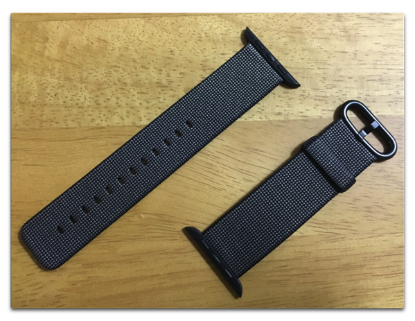 【Apple Watch】3週間使って見えた、ウーブンナイロンベルトの問題点