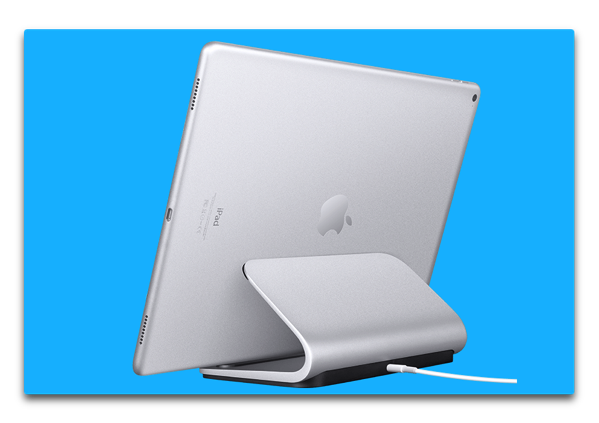 【iPad Pro】logitechのSmartConnectorを利用した充電ステーション「BASE」