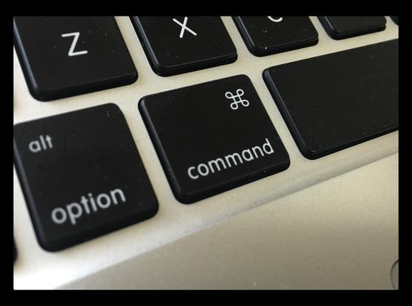 【Mac】「command」キーを使ったFinderのタブ操作