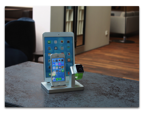 iPhone + Apple Watch,iPad + iPhone + Apple Watch、オシャレで欲しくなるオシャレな充電スタンド2選