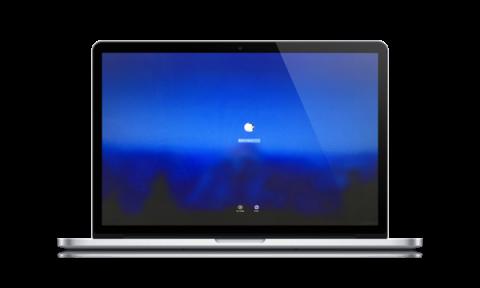 外出用MacBook、情報セキュリティーのためにロックと解除の使い勝手をあげるための設定