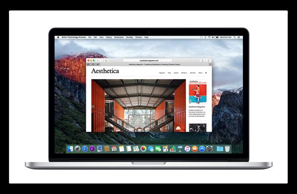 【Mac】Apple,「Safari Technology Preview Release 5」を開発者にリリース