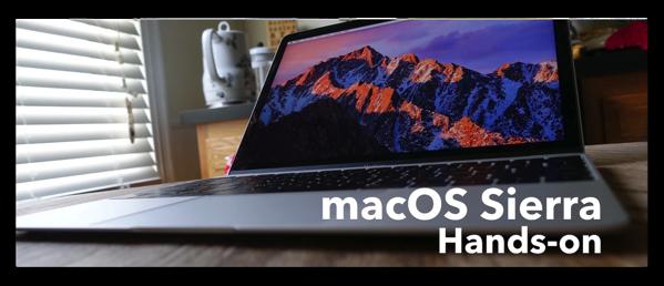 【Mac】「macOS Sierra」の新機能がわかるビデオ