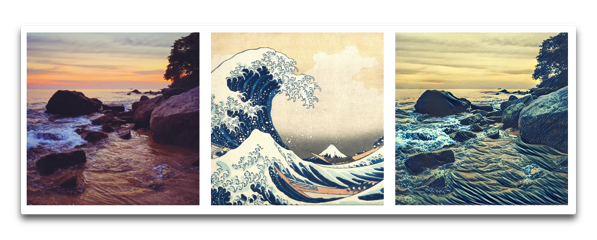 【iPhone】有名な芸術家のスタイルを使用して写真を変換「PRISMA」