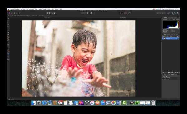 【Mac】開発中の「Affinity Photo v1.5」のビデオを公開しています
