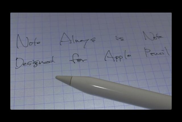 【iPad Pro】Apple Pencilで紙とペンに匹敵する書き味の手書きメモ「Note Always」